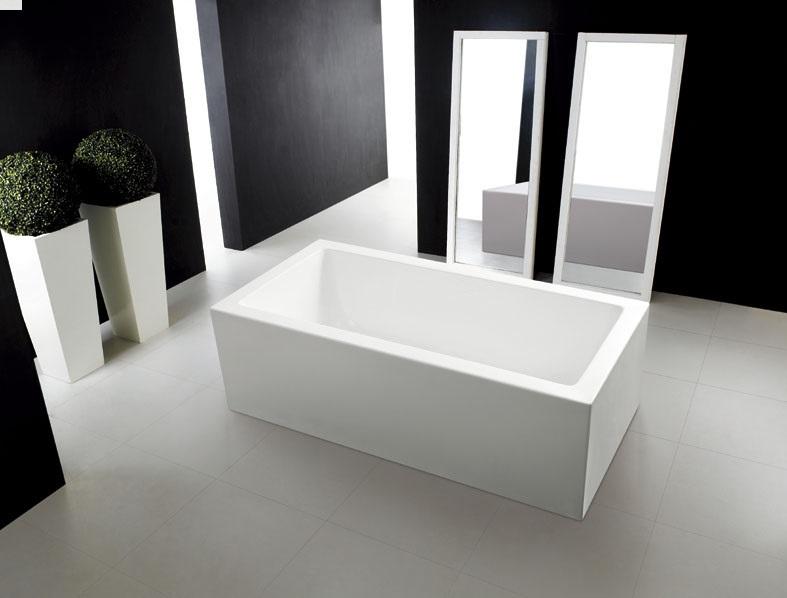 Quatro bath 1700x850x550mm eurotrend for Eurotrend bathrooms