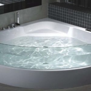 Two person freestanding spa bath eurotrend for Eurotrend bathrooms