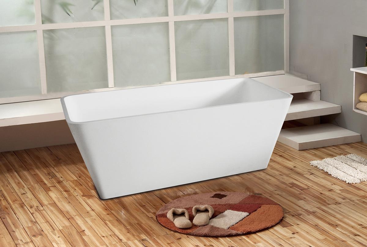 Small freestanding bath eurotrend for Eurotrend bathrooms