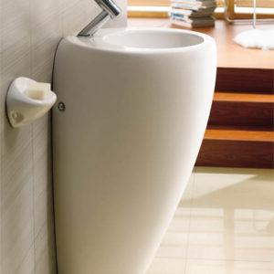 Square pedestal basin vertigo eurotrend for Eurotrend bathrooms